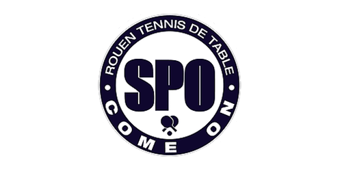 spo rouen tennis de table logo