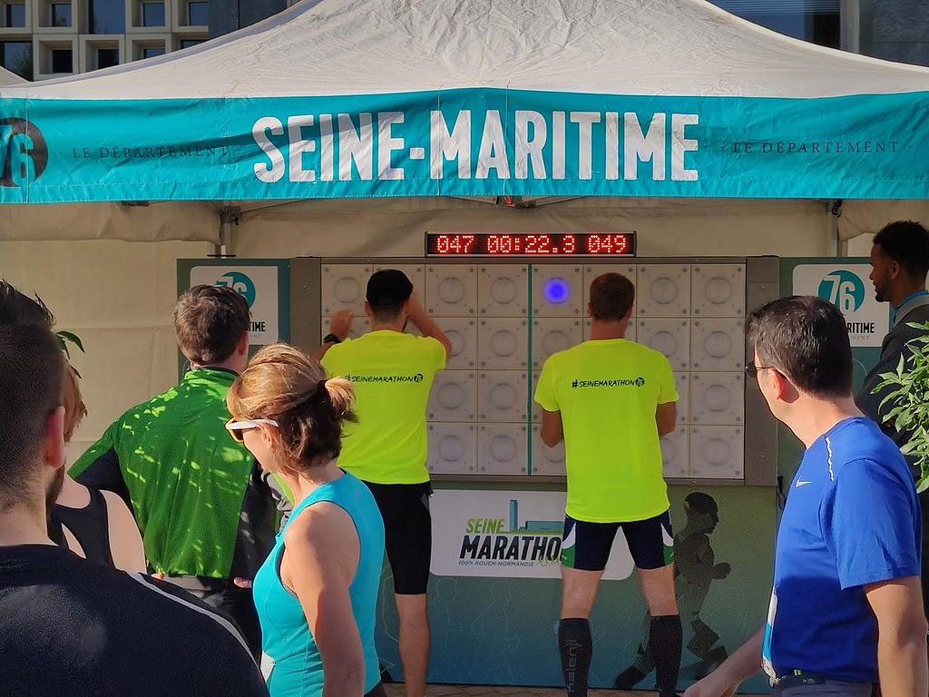 animation sportive seine marathon departement seine-maritime